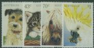 AUS SG1299-302 Domestic Pets set of 4